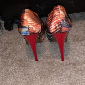 Aldo Shoes - Multi Colored Heels